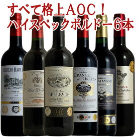 格上ばかりボルドー6本 セット 赤 赤ワイン コク旨 ボルドーワイン フルボディー カベルネ メルロー 送料無料 ギフト ワインセット 金賞 ボルドー wineプレゼント ワイン 750ML あす楽 r-40953