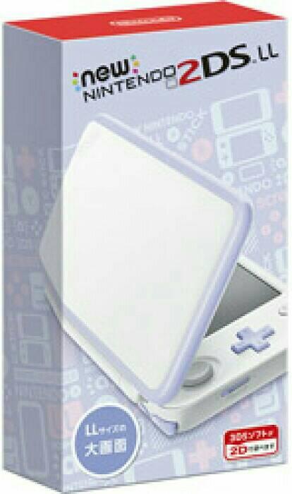 Nintendo 他ゲーム機本体 NEW ニンテンドー 2DS LL ホワイト/ラベンダ ブラック/ライム ホワイト/オレンジ
