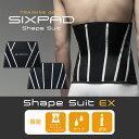 【 メーカー公式店 】 MTG SIXPAD Shape Suit EX シックスパッド シェイプスーツ イーエックス S〜LL 送料無料 sixpad ウエス...
