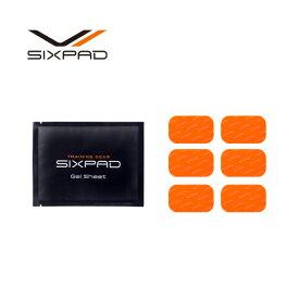 シックスパッド アブズフィット 高電導ジェルシート(6枚入り)×1箱 SIXPAD Abs Fit 【メーカー公式店】 MTG EMS ジェルパッド EMS パッド sixpad シックスパッド ジェルシート 互換品ではございません