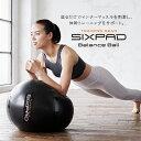 シックスパッド バランスボール【メーカー公式店】フィットネス 柔軟運動 背中 腕 脚