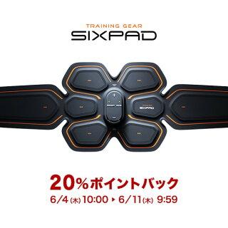 シックスパッドSIXPADアブズベルトS/M/Lサイズウエスト58cm〜100cm