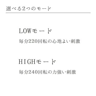 LOWモード/HIGHモード