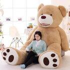 ぬいぐるみ特大くま/テディベアー可愛い熊大きいクマ抱き枕/ふわふわぬいぐるみ200cm女の子男の子子供女性クリスマスプレゼント