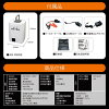 Portable power supply 26,800mAh (PB268) LED light lantern compact portable battery disaster prevention goods emergency disaster iPhone Android smartphone charge fast charging jump starter cell starter sleeping on the train outdoor camping flashlight home