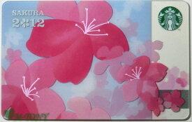 [送料無料]Starbucks スターバックス日本カード 2012さくら SAKURA カード送料無料/クリックポスト発送/スタバ/タンブラー/マグ