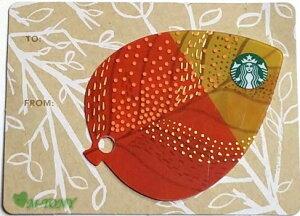 [送料無料]Starbucks スターバックスミニ リーフ カード A ☆韓国/送料無料/クリックポスト発送/ギフト包装/海外限定品/日本未発売/スタバ/タンブラー/マグ/クリスマス/バレンタイン/ハロウィン