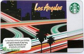 [送料無料]Starbucks スターバックスアメリカカード ロサンゼルス Los Angeles 2013米国カード/送料無料/クリックポスト発送/ギフト包装/海外限定品/日本未発売/スタバ/タンブラー/マグ/クリスマス/バレンタイン/ハロウィン