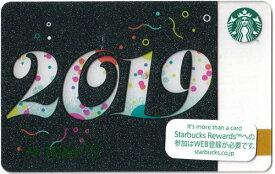 [送料無料]Starbucks スターバックス日本カード 2019 New Year カード/送料無料/クリックポスト発送/スタバ/タンブラー/マグ/クリスマス/バレンタイン/ハロウィン