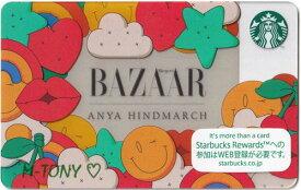 [送料無料]Starbucks スターバックス日本カード 2018Harper's BAZAAR ANYA HINDMARCHアニヤ・ハインドマーチ カード/送料無料/クリックポスト発送/スタバ/タンブラー/マグ/クリスマス/バレンタイン/ハロウィン