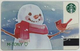 [送料無料]Starbucks スターバックスロシア カードスノーマン カード/送料無料/クリックポスト発送/ギフト包装/海外限定品/日本未発売/スタバ/タンブラー/マグ/クリスマス/バレンタイン/ハロウィン