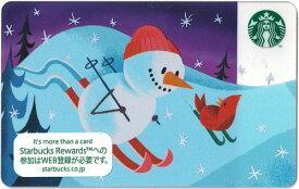 [送料無料]Starbucks スターバックス日本カード 2019ホリデー クリスマス 雪だるま スノーマン カード/送料無料/クリックポスト発送/スタバ/タンブラー/マグ/クリスマス/バレンタイン/ハロウィン