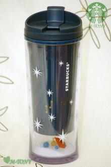 星巴剋星巴克小病房鳥鳥不倒翁藍色 285 毫升 (10 盎司) 禮品包裝航運