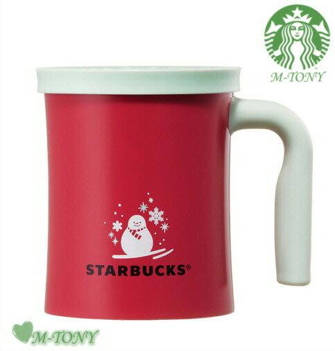 Starbucks スターバックスクリスマス ホリデースノーマン ステンレス マグカップ355ml(12oz) ギフト包装/海外限定品/日本未発売/スタバ/タンブラー/マグ/クリスマス/バレンタイン/ハロウィン