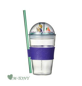 Starbucks スターバックス2021 サマー フォレスト グラス ドーム コールドカップ ベアリスタ フィギュア Summer forest glass dome cold cup503ml☆海外限定品/日本未発売/スタバ/タンブラー【売れ筋】【オススメ】