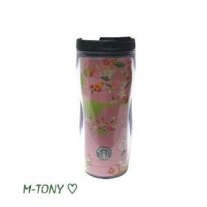 Starbucks スターバックスコーヒー フラワー タンブラー ピンク350ml、ギフト包装/スタバ/タンブラー/マグ/クリスマス/バレンタイン/ハロウィン
