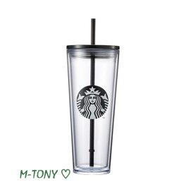 Starbucks スターバックスブラック サイレン コールドカップBlack siren coldcup710ml、海外限定品/日本未発売/スタバ/タンブラー/マグ/クリスマス/バレンタイン/ハロウィン