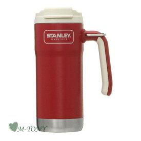 Starbucks スターバックスグリップハンドル ステンレス タンブラー STANLEY レッド473ml/スタバ/タンブラー/マグ/クリスマス/バレンタイン/ハロウィン