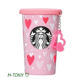 Starbucks スターバックスバレンタイン 2019 シリコンリッド ステンレス カップチャーム355ml(12oz)、ギフト包装/スタバ/タンブラー/マグ/クリスマス/バレンタイン/ハロウィンValentine's Day