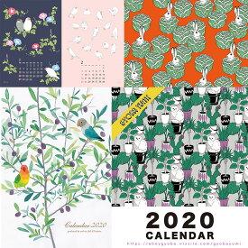 【予約】2020 カレンダー 壁掛け torinos トリノス ペンギン 猫 GOYBA YUMI 行場ユミ デザイン イラスト壁掛けカレンダー インテリア おしゃれ かわいい