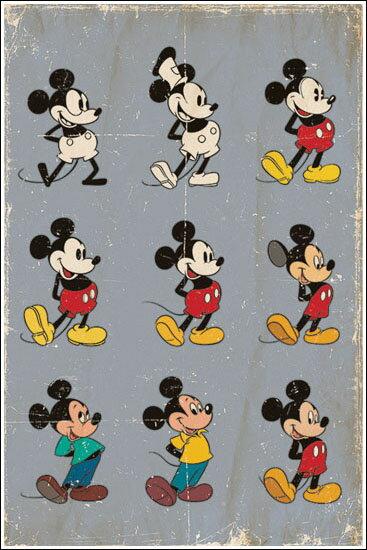 ミッキーマウス/エボリュ-ション ポスター【FF-5188】