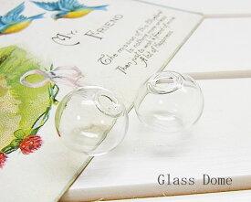 ◆メール便不可◆ネコポス対応◆ガラスドーム 1.6[oth-bin-094]