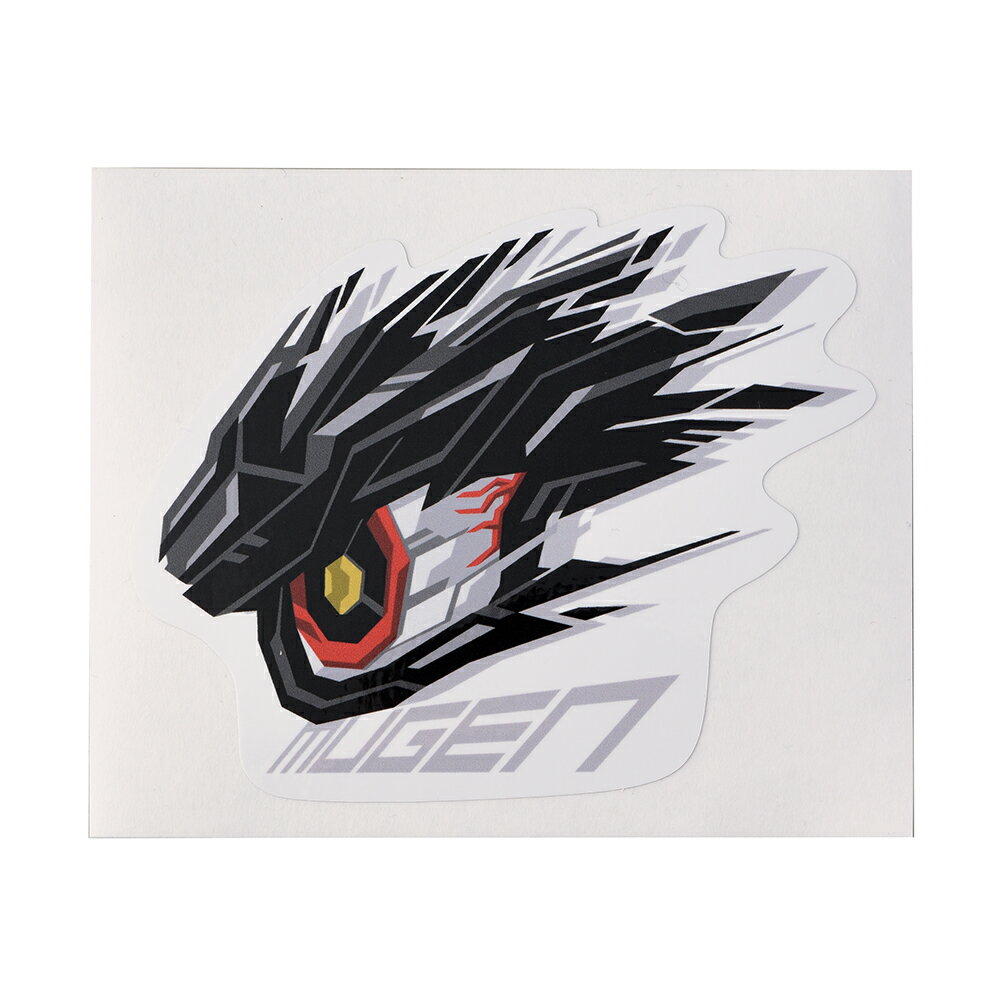 MUGEN×SHIBUYA COMMANDER EYE STICKER SIZE:S