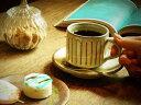 産地直送! 信楽焼 白釉流し コーヒーカップ&ソーサー(お洒落なコーヒー碗皿、マグカップ、ティーカップ) ギフト/お祝い/贈り物/珈琲碗皿/窯元直送/信楽焼き/...