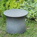 信楽焼 フラワースタンド 園芸 花台 白 斑点 7号 おしゃれ 玄関先 北欧 和風 屋外 用 陶器 プランターススタンド 鉢 …