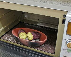 万古焼 電子レンジ 石焼き芋器 家庭用 焼き芋器 用石 付 (石 追加可) レンジ 焼き芋器 石焼き芋鍋 焼き芋鍋 やきいも 焼きいも 日本製 ギフト 陶器 焼き物 やきもの(01-04)