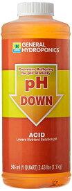 GH pH Down ペーハーダウン 946ml