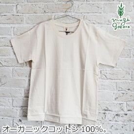 Tシャツ ピープルツリー オーガニックコットン ベーシックTシャツ ユニセックス 生成 購入金額別特典あり 正規品 オーガニック 送料無料 無農薬 無添加 天然 ナチュラル ノンケミカル 自然 People Tree フェアトレード