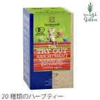 【ゾネントア】【sonnentor】【バラエティーラインナップ】20種類のお茶20袋(ハーブティー)