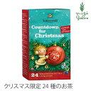 ゾネントア sonnentor クリスマスカウントダウンのお茶 ハーブティー クリスマス限定 購入金額別特典あり 正規品 オー…