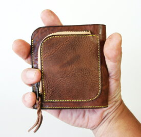 二つ折り財布 チビ財布 ambulo purse アンブロパース ファスナー 小銭入れ メンズ レディース