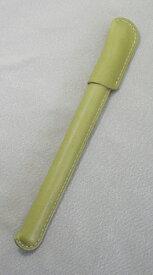 レザーボールペン 革巻き ペン  牛革 コードバン