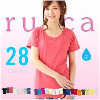 T shirt Womens short sleeve plain T shirts Lucca Lucca all 4 colors 3.8 oz 50% less 2P13oct13_b