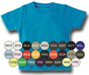 ちっちゃなちっちゃなミニTシャツ/白/赤/青/緑/黒/黄色/イエロー/水色/ピンク/オレンジ/紺/紫【QTB】【3009999】