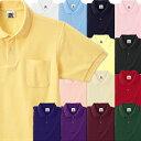 激安 T/C ポロシャツ ポケット付き/白/赤/青/緑/黒/黄色/イエロー/水色/ピンク/オレンジ/紺/紫【MSD】【5000226】