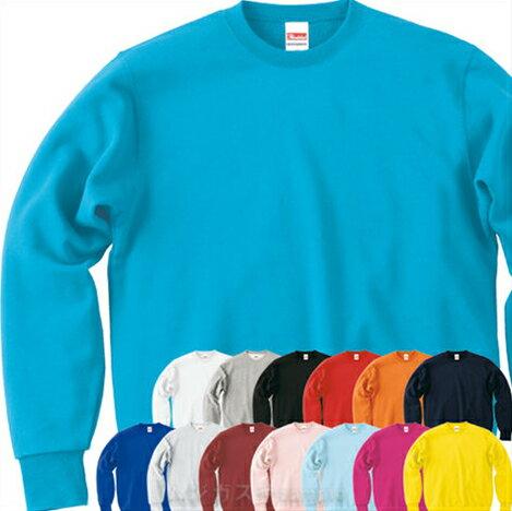 Printstar スタンダードトレーナーXS-XL/白ホワイト黒ブラック/赤青黄色イエロー/ピンク/オレンジ/水色/紺/男女兼用/メンズ/レディース/制服/学園祭/【1400183】【40】