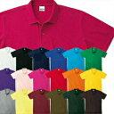 【1着ならメール便(ネコポス)可】楽天ランキング1位獲得!プリントスターポロシャツ メンズ・レディース(男女兼用)ポロシャツ 半袖ポロシャツ 無地ポロシャツ 白ホワイト 黒ブラック青赤オレンジ緑イエロ
