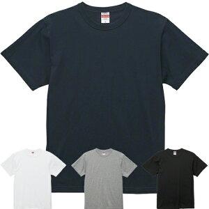 tシャツ メンズ 半袖 UnitedAthle(ユナイテッドアスレ) 6.0ozオープンエンドバインダーネックTシャツS-XL 【2042101】