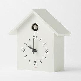 無印良品 鳩時計・大 掛置時計・ホワイト