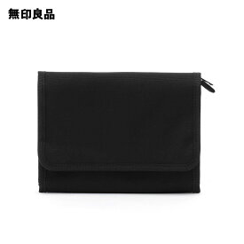【無印良品 公式】ポリエステル・母子手帳ケース・小 黒・20×15cm