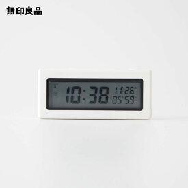 【無印良品 公式】デジタルタイマー時計ホワイト/型番:DKC‐52