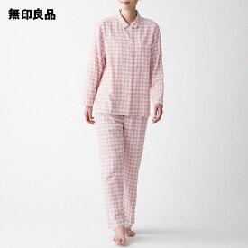 【無印良品 公式】脇に縫い目のない 二重ガーゼパジャマ (婦人)