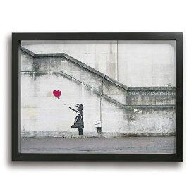 アートパネル アートフレーム おしゃれ 壁掛け インテリア 絵 さようなら バンクシー インテリアアート アートパネル モダン インテリアアートパネル 玄関 に 飾る 絵画 40*30cm