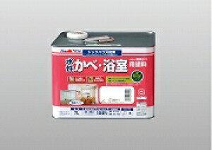 【送料無料! あす楽】アトムハウスペイント(塗料/ペンキ/ペイント)水性かべ・浴室用塗料7L 白