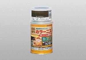 アトムハウスペイント(塗料/ペンキ/ペイント)カラーニス 100ML ダークブラウン
