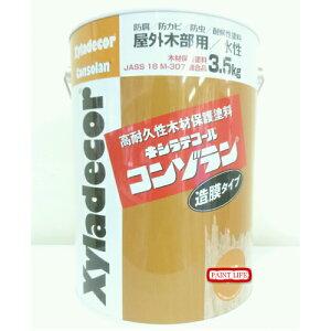 大阪ガスキシラデコールコンゾラン べんがら・朱色3.5kg